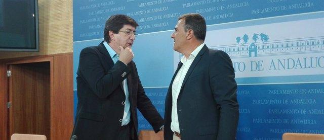 Juan Marín y Carlos Hernández White