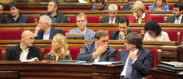 JxSí en el Parlament