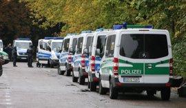 Heridos cuatro policías por un tiroteo en la región alemana de Baviera