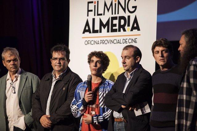 Miguel Herrán, padrino de 'Almería, Tierra de Cortometrajes'.