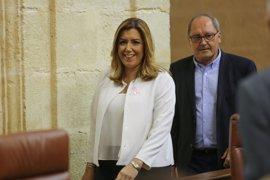 Susana Díaz urge a resolver rápidamente la cuestión de la gobernabilidad