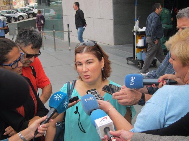 Inmaculada Rivas, la madre del menor que ha denunciado acoso