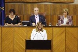 Susana Díaz, hoy en el Debate sobre el Estado de la Comunidad