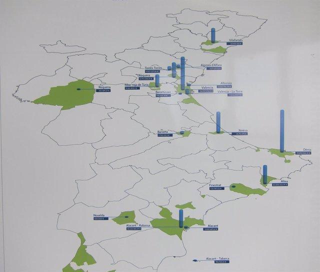 Mapa de la Hipoteca Urbanística de la Comunitat Valenciana