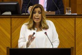 """Susana Díaz destaca que """"mantiene a la derecha en la oposición, donde menos daño hace"""""""
