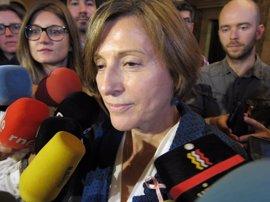 """Forcadell replica a Fiscalía que quien """"dinamita el Estado"""" es la corrupción"""