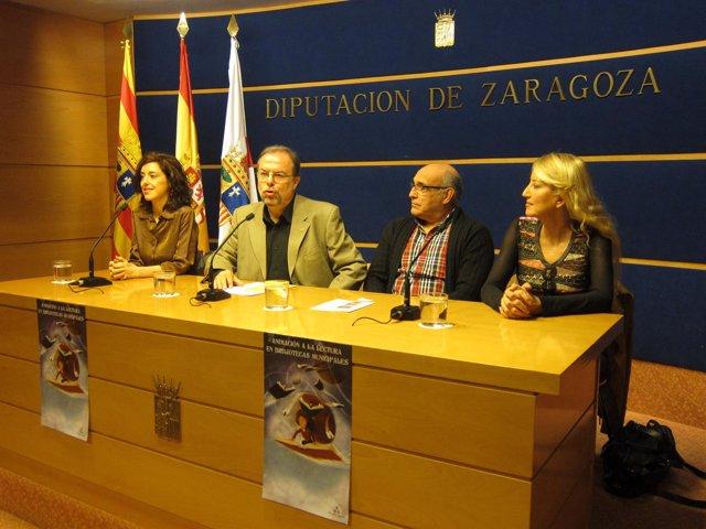 Fuster, Paricio, Abenia y Vallejo han presentado las actividades de este otoño