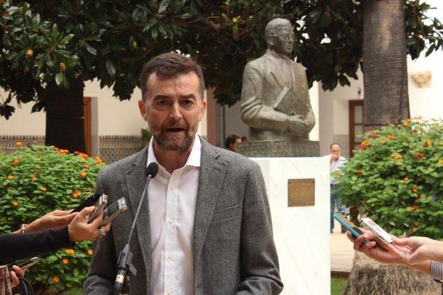 El coordinador de IULV-CA, Antonio Maíllo.