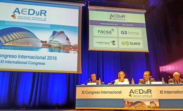 Congreso Internacional de la Asociación Española de Desalación y Reutilización