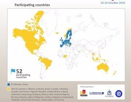 Un total de 314 detenidos en una macrooperación internacional contra el crimen organizado