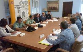 Mil agentes de la Guardia Civil participará en la campaña de la aceituna de Jaén