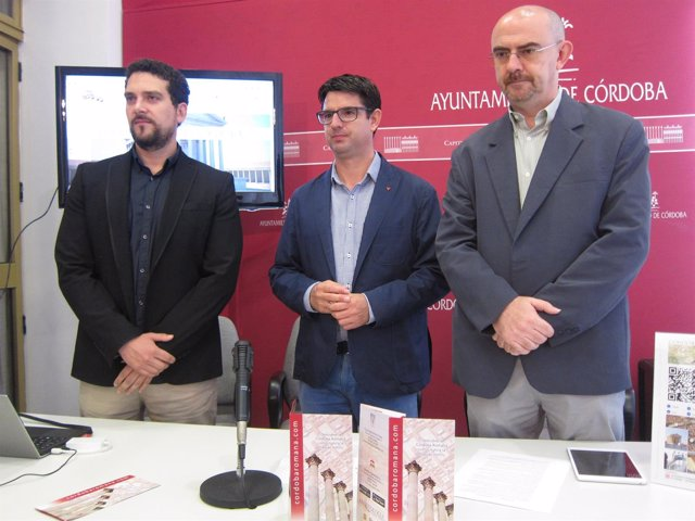 Presentación de la web y la aplicación sobre la Córdoba romana