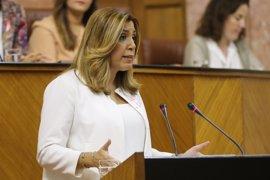 Susana Díaz anuncia tres nuevos instrumentos de ayuda para las empresas