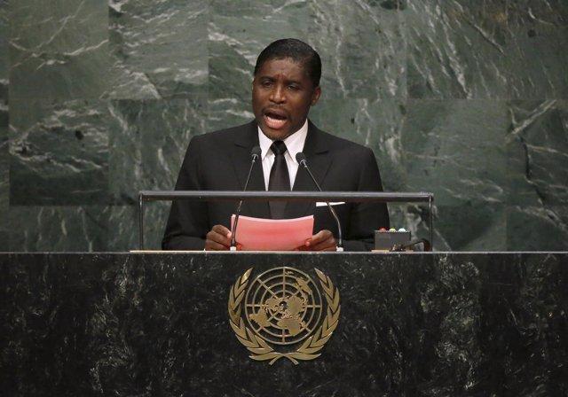 Teodorín Nguema Obiang, vicepresidente de Guinea Ecuatorial, en Naciones Unidas