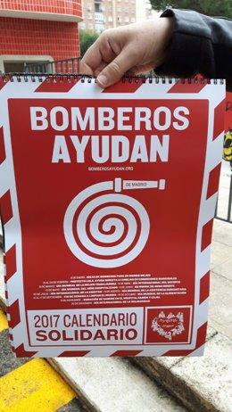 Calendario solidario de Bomberos ayudan