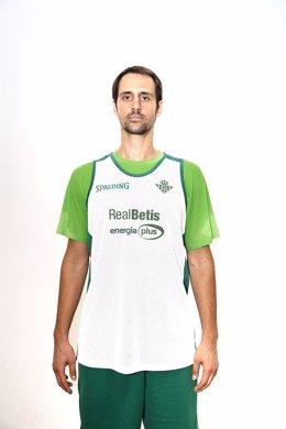 Domen Lorbek, jugador del Real Betis Energía Plus