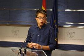 """Errejón considera una """"sinvergonzonería"""" que el PSOE acuse a Podemos de instigar las protestas contra Felipe González"""