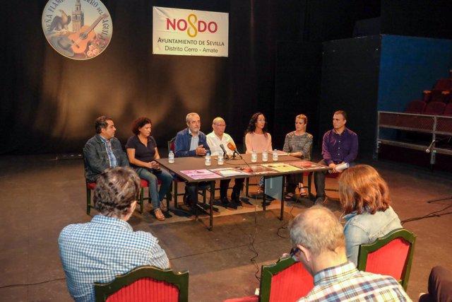 Presentación de la temporada del Teatro Távora.