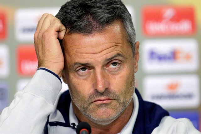 El entrenador del Villarreal Fran Escribá