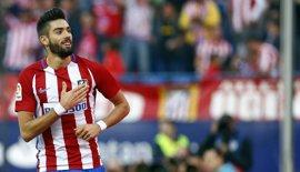 "Carrasco: ""Espero seguir marcando muchos goles"""