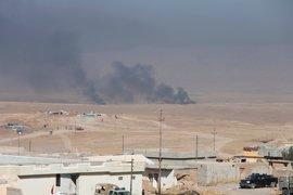 Las fuerzas de Irak expulsan a Estado Islámico de seis localidades al sur de Mosul