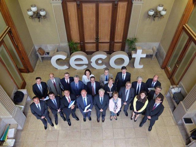 El jurado de los Reconocimientos Cecot 2016