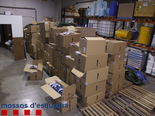 Los Mossos han recuperado la mercancía robada, que tiene un valor de 60.000 €