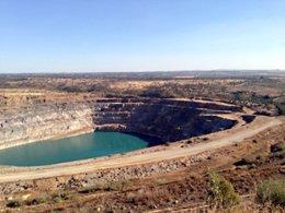 Imagen de la corta de la mina de Aznalcóllar