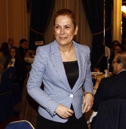 La presidenta de Navarra, Uxue Barkos