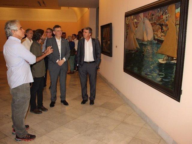 Ximo Puig durante su viaje a Cuba