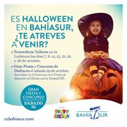 Actividades terroríficas para celebrar Halloween en la Ludoteca de Bahía Sur.