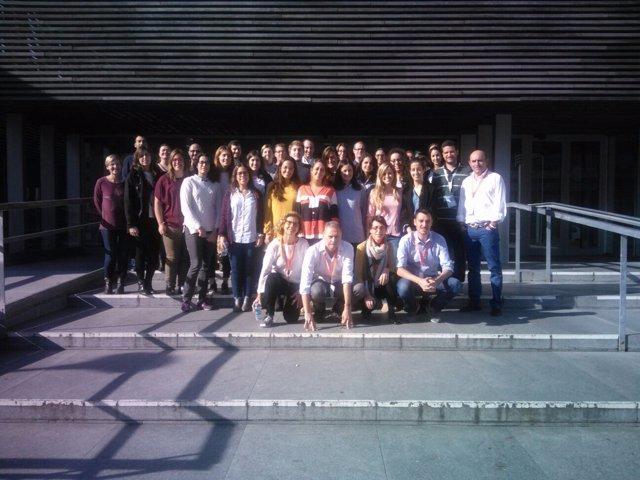 Participantes en el curso nacional sobre radioterapia