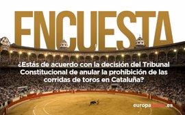 ENCUESTA en Twitter   El 52% está de acuerdo con que el TC anule la prohibición de los toros en Cataluña