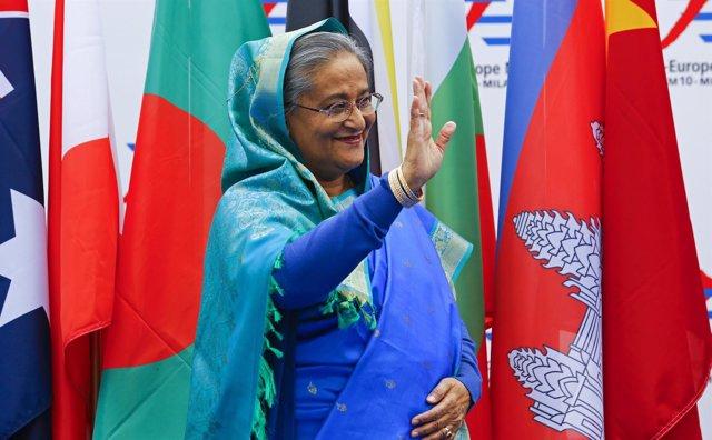 Sheij Hasina, primera ministra de Bangladesh