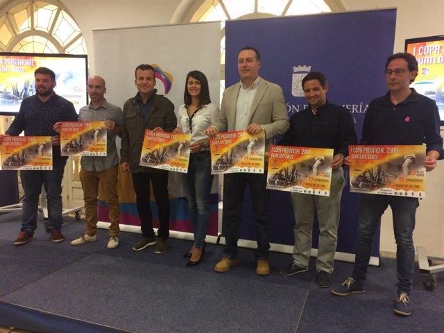 La I Copa de Duatlón Cross pasará por Roquetas de Mar, Carboneras y Vélez Rubio.