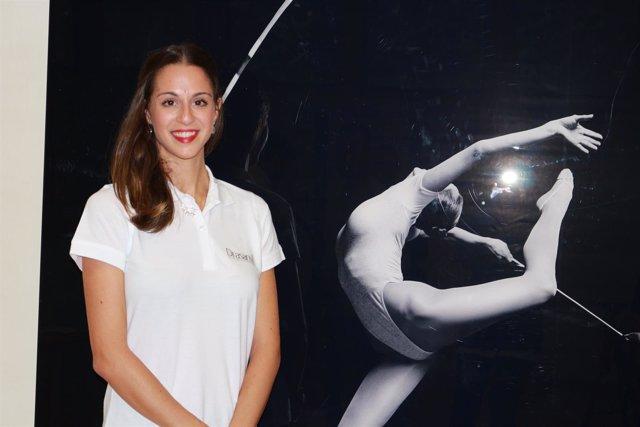 La gimnasta Carolina Rodríguez