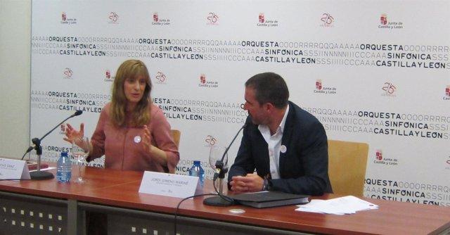 Mar Sancho y Jordi Gimeno presentan el 'Programa Sinfónico y de Cámara'