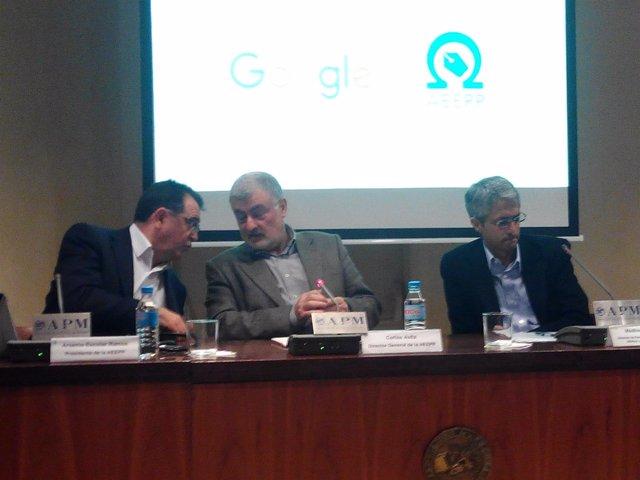 Arsenio Escolar (AEEPP) y Madhav Chinnappa (Google)