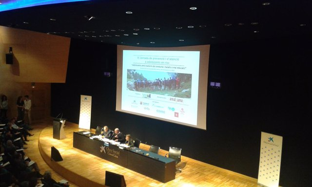 Presentación de estudio de trastornos de conducta, con C.Molina