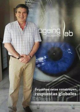 El presidente de la fundación Ageing Lab, Alfonso Cruz.