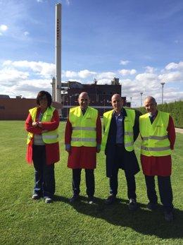 El vicepresidente Manu Ayerdi visita ROCKWOOL