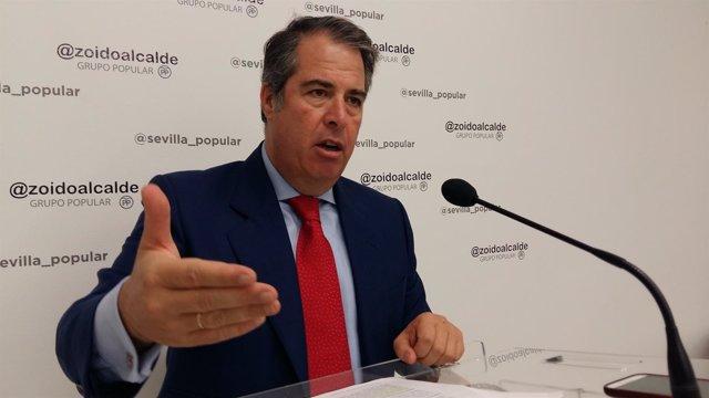 Gregorio Serrano en rueda de prensa.