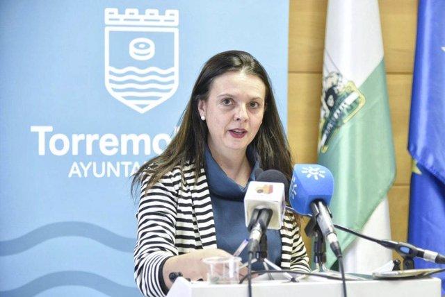 La portavoz del equipo de gobierno de torremolinos Maribel Tocón psoe