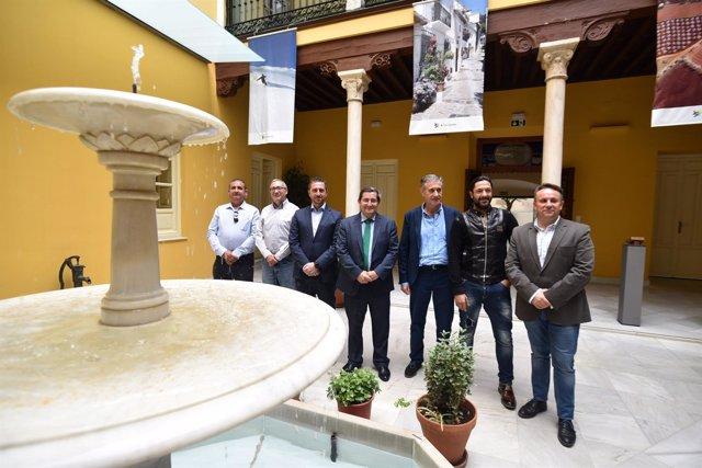 Los galardonados con los Premios de Turismo de Granada