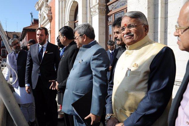 Nota Y Fotos Aytova. Visita Delegación Parlamentarios Indios