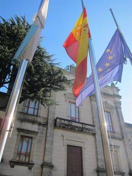 Exterior del Parlamento de Galicia