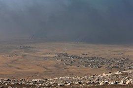 La ofensiva sobre Mosul ha dejado ya más de 5.000 desplazados