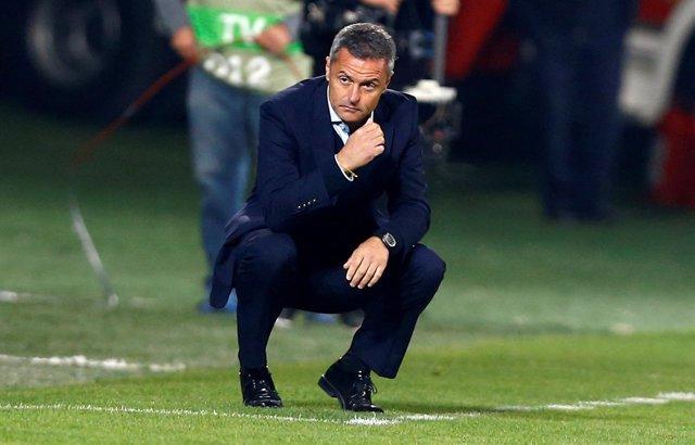 El entrenador del Villarreal, Fran Escribá