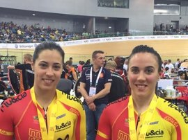 Tania Calvo y Helena Casas, plata en el Campeonato de Europa