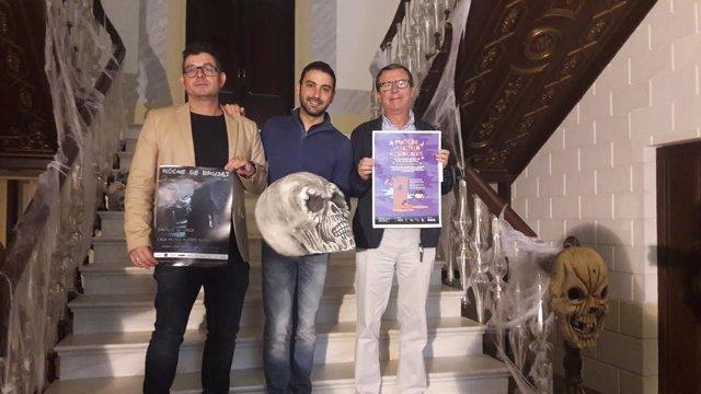 Montiel y Llamas presentan la 'Noche de las Brujas'